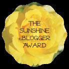 The Sunshine Blogger Award!