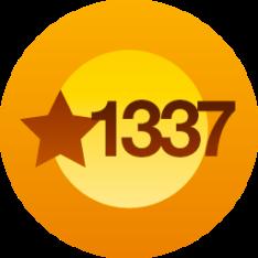 1337 Likes!