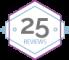 25 Reviews - Netgalley!