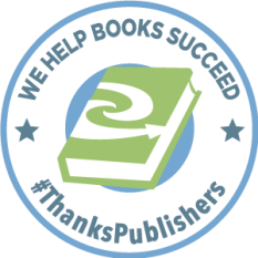 #ThanksPUblishers Badge
