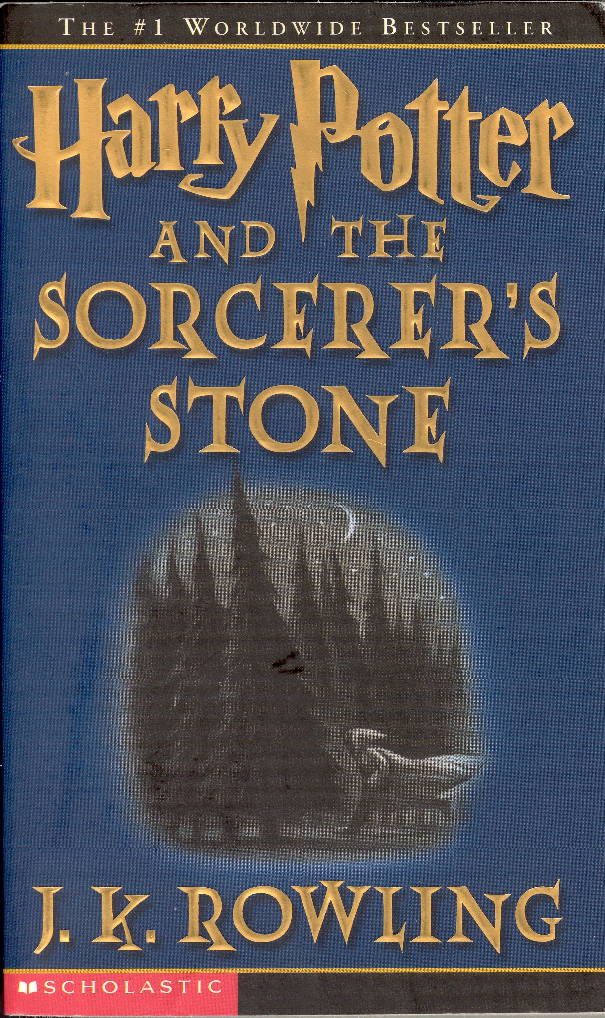 Harry Potter and the Sorcerer's Stone – J.K. Rowling ...